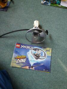 Lego Ninjago Airjitzu Set 70742  ZANE SPINNER