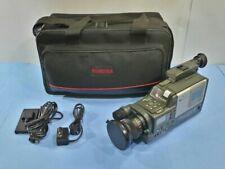 VIDEO CAMERA RECORDER FUJIX-8 M600AF VIDEO SYSTEM RETRO VINTAGE PAL CCD 6V