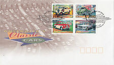 Australia 1997 Australia's Classic Cars FDC (World Trade Centre, VIC)