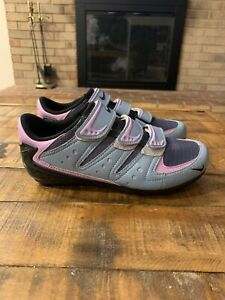 NIKE Cycling Bicycle Blue  Purple Women's EU 36 / US 5.5 Excellent Condition