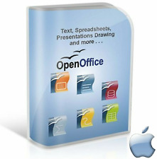 Open OFFICE 2018 PRO Edition Word Processor for Apple Mac (Digital Download)