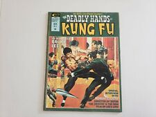 Deadly Hands Of Kung Fu #16 1975 Nice Cond.