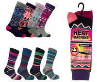 Ladies Womens Heat Thick 2.3 Tog Winter Warm Thermal Socks Size 4-8 UK