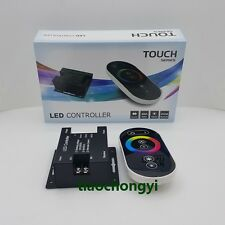 18A 216W DC12V Wireless RF Dimmer Control Touch Remote 3528 5050 RGB LED Strip