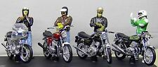 Joe Bar Team * Ducati + Honda + Kawasaki + Norton  + 4 Figuren * Solido 1:18  _