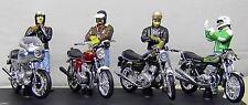 Joe Bar Team * Ducati + Honda + Kawasaki + Norton + 4 personnages * SOLIDO 1:18 _