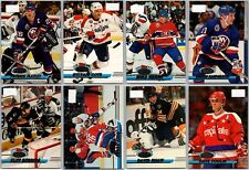 1993-94 STADIUM CLUB FIRST DAY ISSUE PARALLEL CARDS - PICK SINGLES - FINISH SET