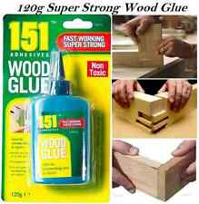 HEAVY DUTY WOOD GLUE 120g ADHESIVE NON TOXIC FAST SUPER STRONG DIY QUICK DRY NEW