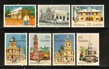 Australia-#832-38 Mnh-Colonial Post Offices-1982