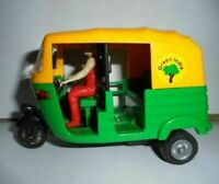 2 Indian Auto Rickshaw Centy Toys Tuk Tuk Transport Kids Cars Souvenir Gift Art