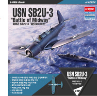 [ACADEMY] #12324 1/48 USN SB2U-3 Battle of Midway Model Kit