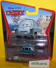 Sarge Pit Crew Member Giocattolo Occhi Mattel Cars Modellini metallo Diecast