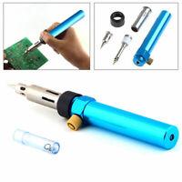 Gas Blow Torch Soldering Solder Iron Gun Butane Cordless Welding Pen Burner V7X7