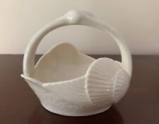 Lenox China Swan Basket. Ivory color. Made in the U.S.A.