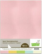 Lawn Fawn Shimmer Cardstock Paper Lf2180 Pastel pink blue green yelow