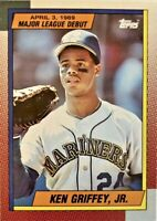 1989 Topps Major League Debut #46 KEN GRIFFEY JR. Rookie Seattle Mariner HOF