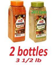 Badia tropical seasoning 2 bottles x 1.75 lbs (793 GRAMS) No MSG) sazon tropical