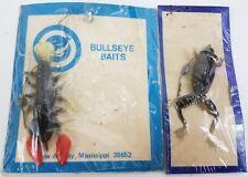 Vintage Bullseye Baits Fishing Lures Rubber Frog Crawdad New Albany, Mississippi