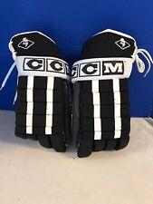 New Ccm Hockey Gloves Black White B-Hg90Xxl Pro-Gard