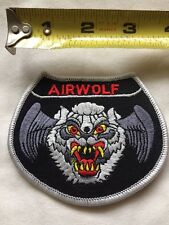 AIR WOLF Embroidered Military Patch