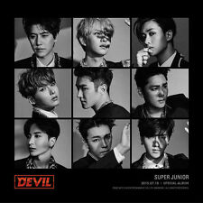 Super Junior Devil Special Album CD No Poster