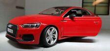 1 24 Bburago Audi RS 5 Coupe 2019 Red