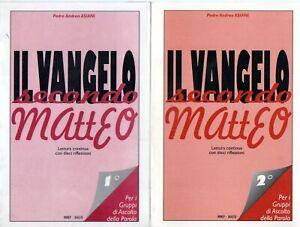 @C23 Il Vangelo secondo Matteo Padre Andrea Asiani vol.1-2 Mimep-Docete 1995
