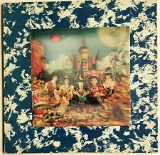 """VINTAGE 1967 ROLLING STONES """"THEIR SATANIC MAJESTIES REQUEST"""" LP HOLOGRAM COVER"""