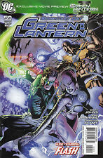 GREEN LANTERN 59...NM-...2010...Geoff Johns,Doug Mahnke!...Bargain!