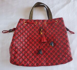 Marc Jacobs Leather Quilted Memphis Robert Lexie Bag XL Red $1995 Rare