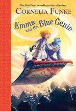 BRAND NEW BOOK Emma and the Blue Genie by Cornelia Funke (2014, Hardcover)