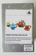 New Disney Parks Winnie the Pooh Mini Tea Set New with Box