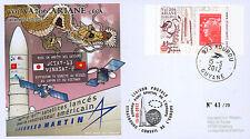 "VA206LT1 FDC KOUROU ""ARIANE 5 Rocket - Flight 206 / JCSAT-13 & VINASAT-2"" 2012"