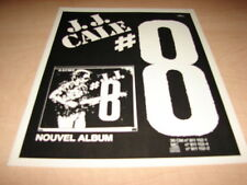 J.J. CALE - #8!!!!!!!!!!!!!!!!!!!!!!!!!! !FRENCH ADVERT