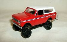 JL 1/64 loose 1979 INTERNATIONAL SCOUT 4x4 OFF ROAD-red/white