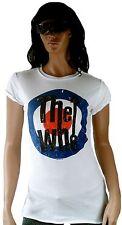 AMPLIFIED THE WHO Target Logo 70'er Tunika Rock Star Vintage ViP T-Shirt g.L 42