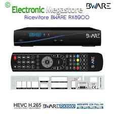 RX8900 COMBO HD dvb-s2 e dvb-t2 con possibilita di visionare SKY e Mediaset