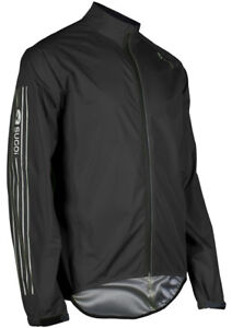 Sugoi RPM Bike Bicycle Cycling Waterproof Jacket Black - 2XL