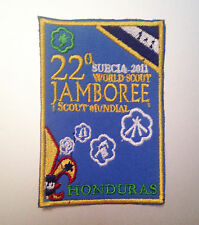 22nd World Scout Jamboree HONDURAS CONTINGENT BADGE 2011