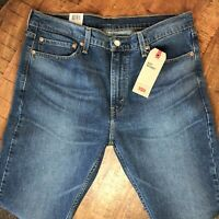 Levis 510 Jeans Skinny Stretch Blue Mens 36x32