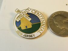 TENAFLY NEW JERSEY CENTENNIAL TRAVEL PIN