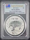 2016-P Australia 1 oz Silver Star Trek 50th Anniversary Coin PCGS MS 70 FREE S/H