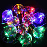 10 LED Solar Powered Retro Bulb String Lights Garden Outdoor Fairy Colorful Lamp