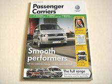 Volkswagen . Passenger Carriers . July 2011 Sales Brochure