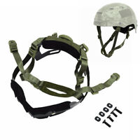 Tactical Military helmet Dial Liner Locking System Chin Strap for FAST Helmet