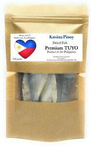 Philippines Dried Fish Premium Quality TUYO Sapsap Bisugo Fast Free Shipping