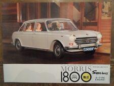MORRIS 1800 Mk.II orig 1970 UK Mkt Sales Brochure - BL 2752