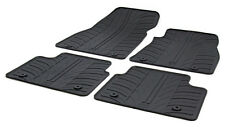 High Quality Black Rubber Tailored Car Mats - Vauxhall Insignia Facelift (13-17)