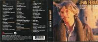 COFFRET 3CD  BEST OF JEAN FERRAT  57T    DE 2009  TRES BON ETAT