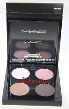 Mac Eye Shadow x 4 (Pink Freeze) Quad Palette 0.19 oz/5.6g Nib
